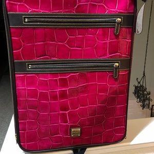Dooney & Bourne Carey on luggage